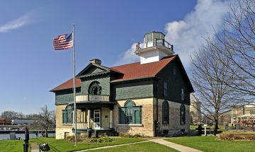 Michigan City - Old Lighthouse Museum 1858