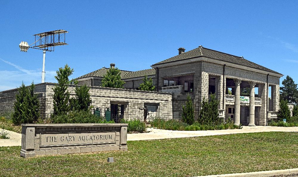 Gary Aquatorium, Marquette Park