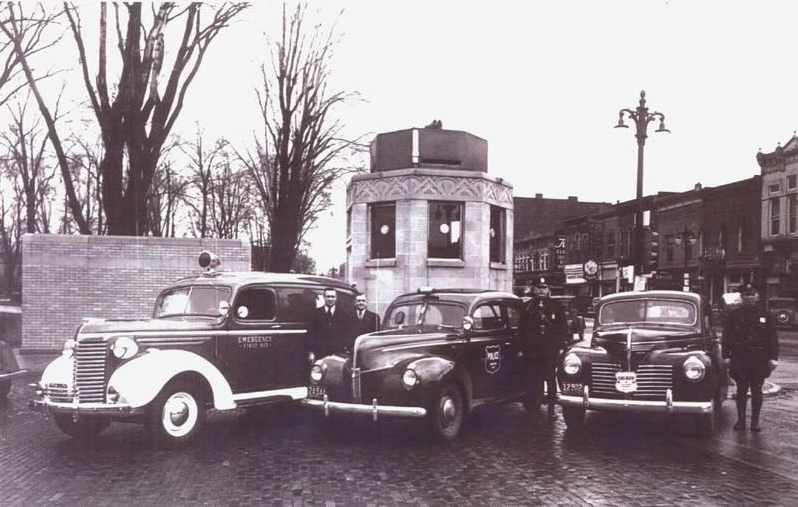 Goshen Police Booth