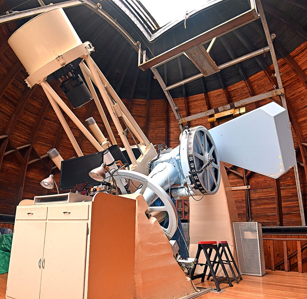 Goethe Link Observatory interior 1 by Lee Lewellen