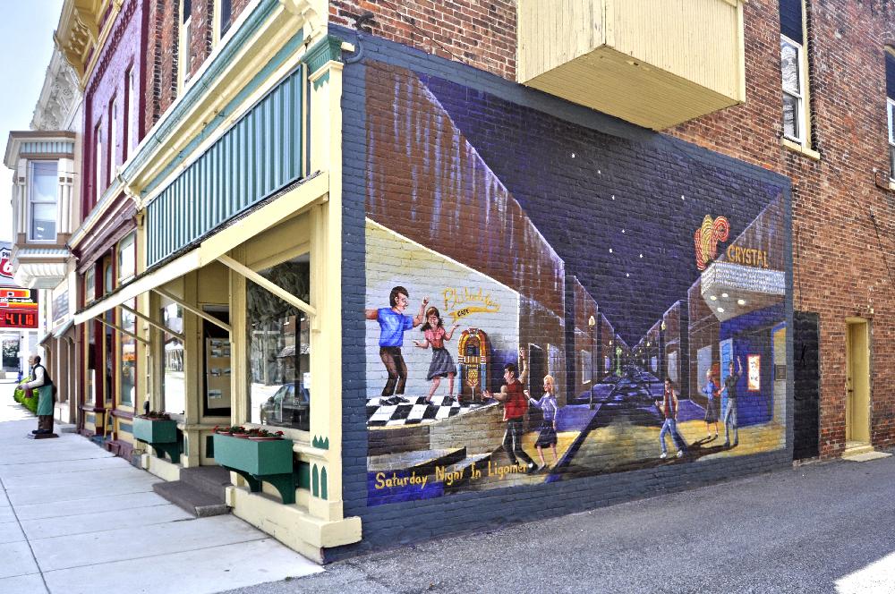 Ligonier murals
