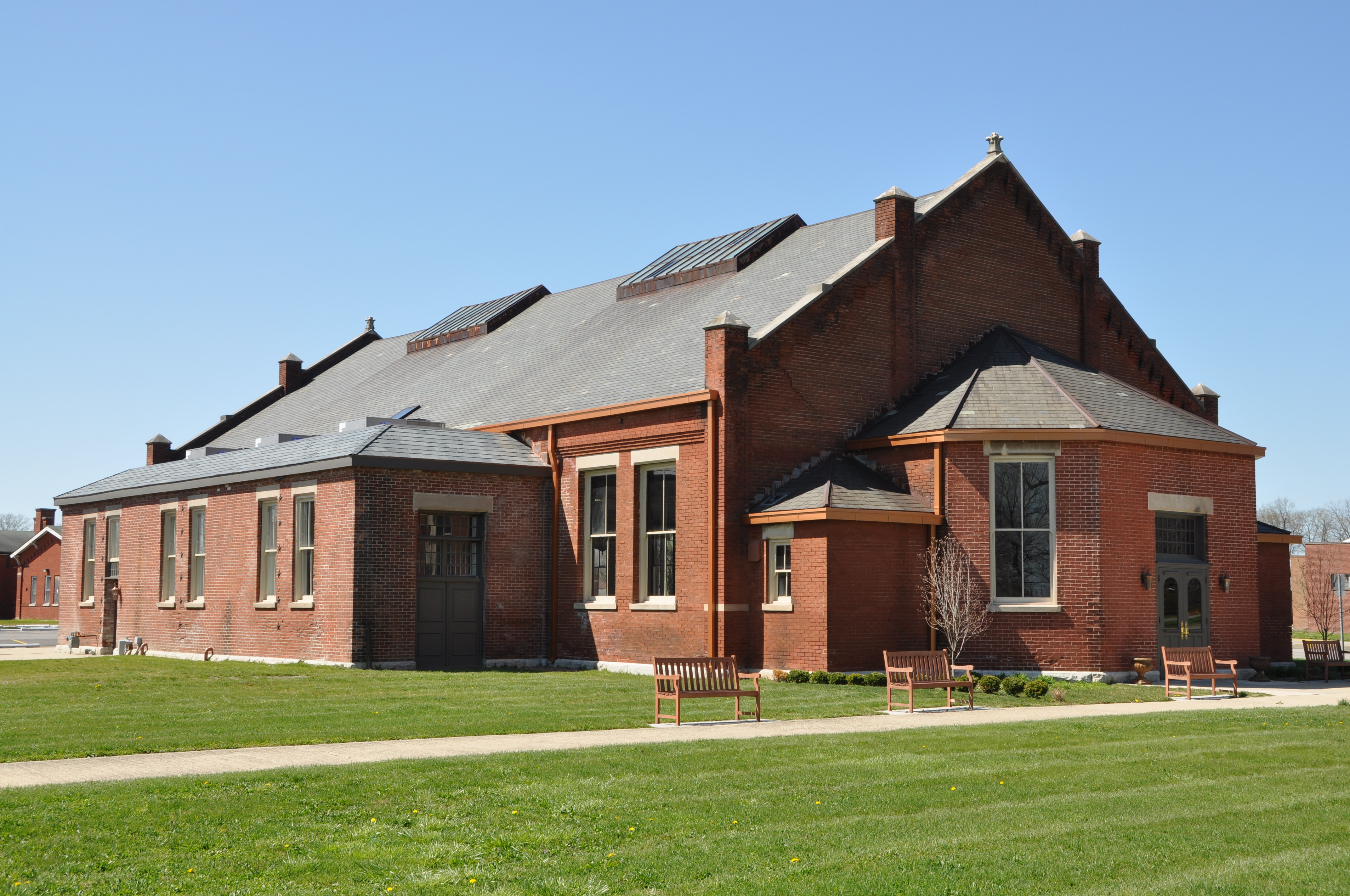 1899 Building at former Central State Hospital