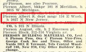 1908 City Directory