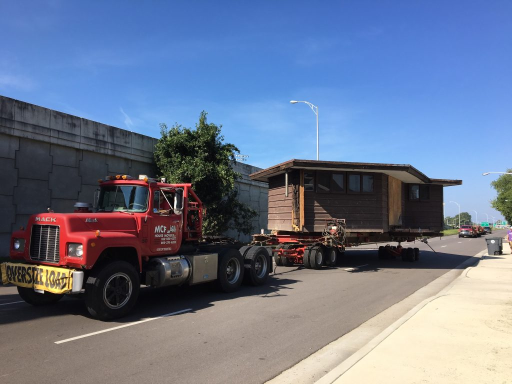 Peters-Margedant House move