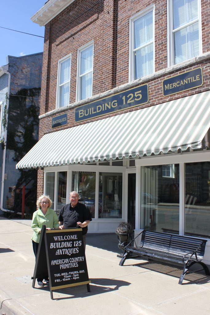 Servaas Memorial Award winners Jim and Norma Bertsch restored a historic block on the National Road in Cambridge City, setting a standard and sparking revitalization in their hometown.