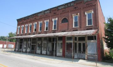 Koerner Block in Birdseye, Indiana