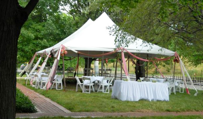 Butler-Morris House Lawn Tent