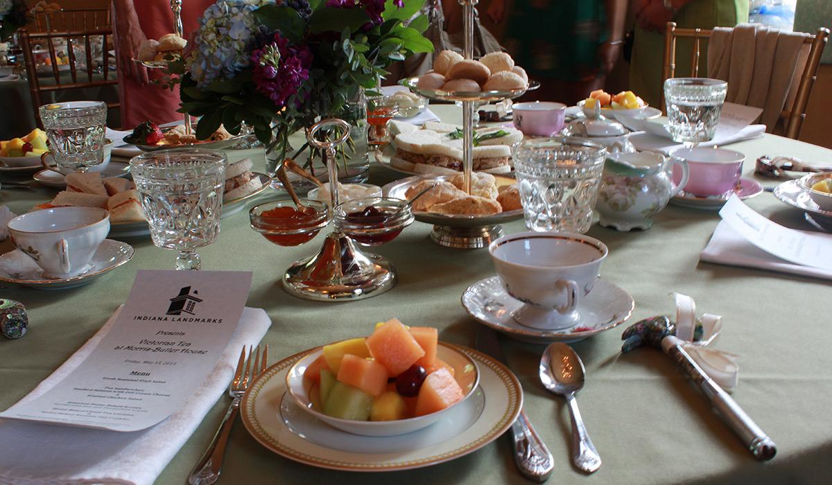 Butler-Morris House Parlor Tea Table
