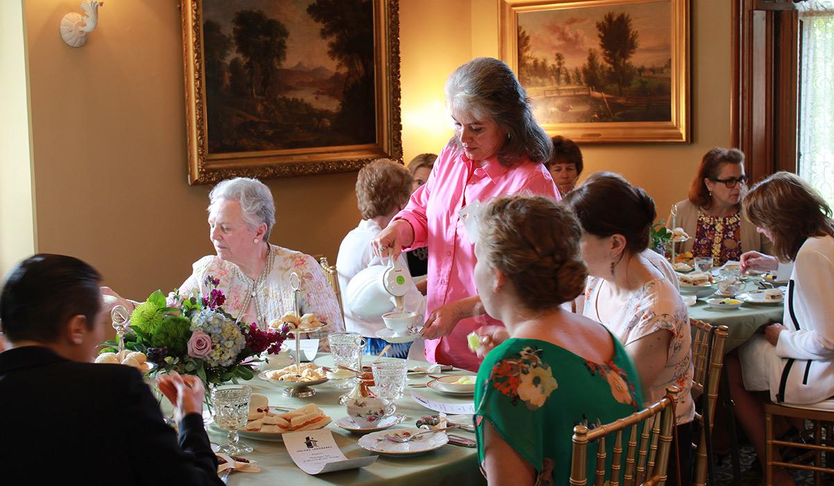 Butler-Morris House Parlor Tea Guests