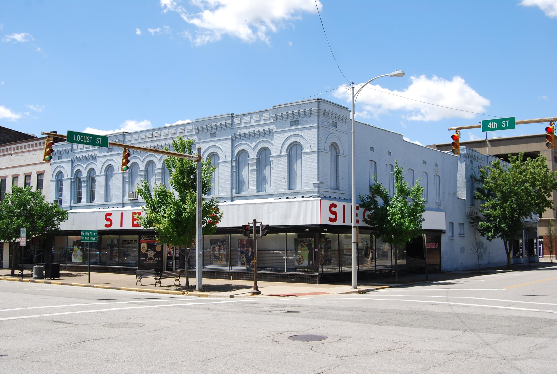 Former Siegle's Uniforms Building Evansville