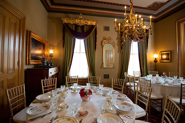 Dinner Butler-Morris House