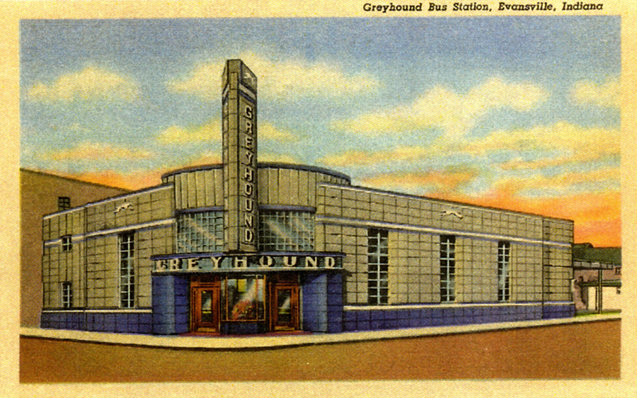 Evansville Greyhound station historic