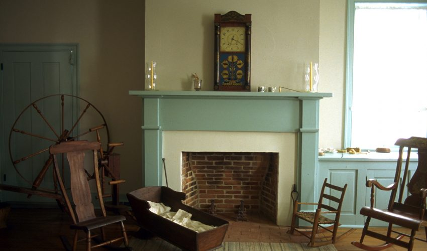 Huddleston Farmhouse Family parlor