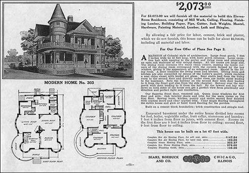 Historic floor plan catalog