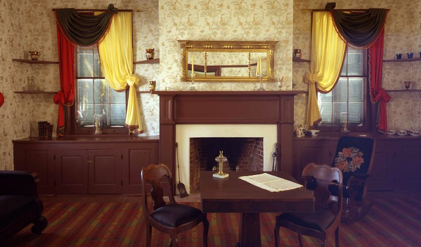 Huddleston Farmhouse Formal Parlor