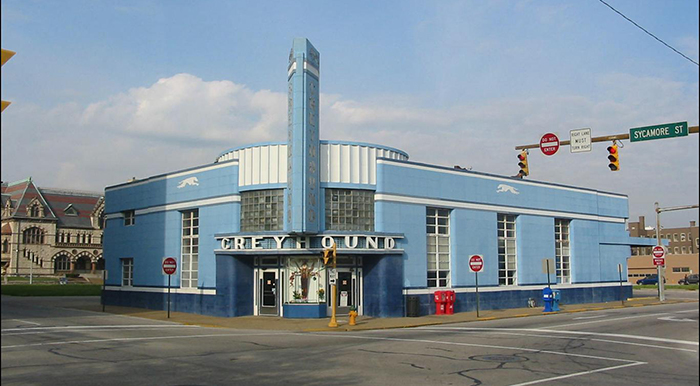 Evansville Greyhound Station