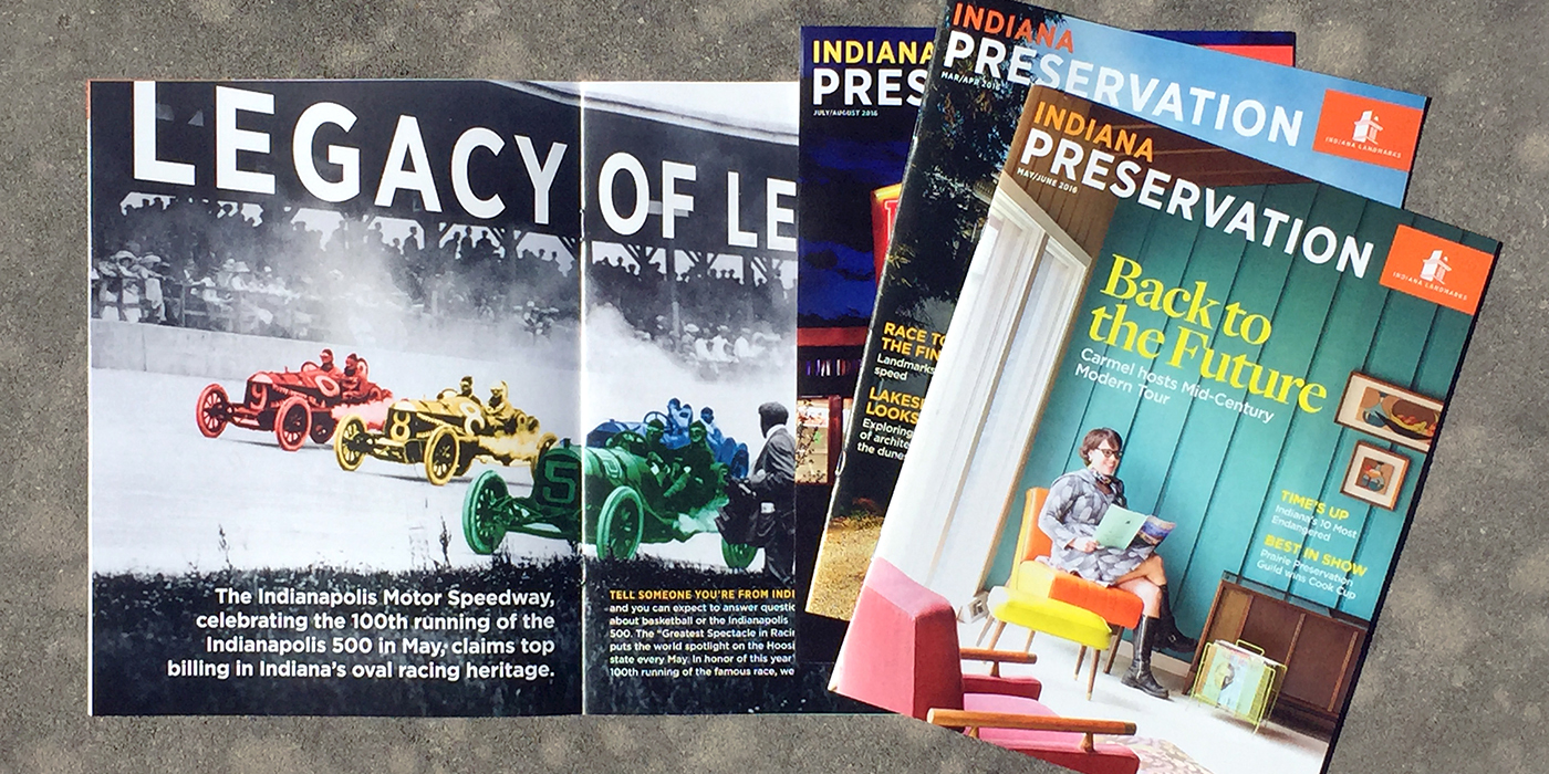 Indiana Preservation Magazines