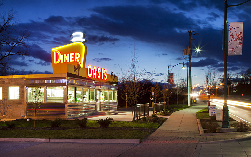 Oasis Diner, Plainfield, IN