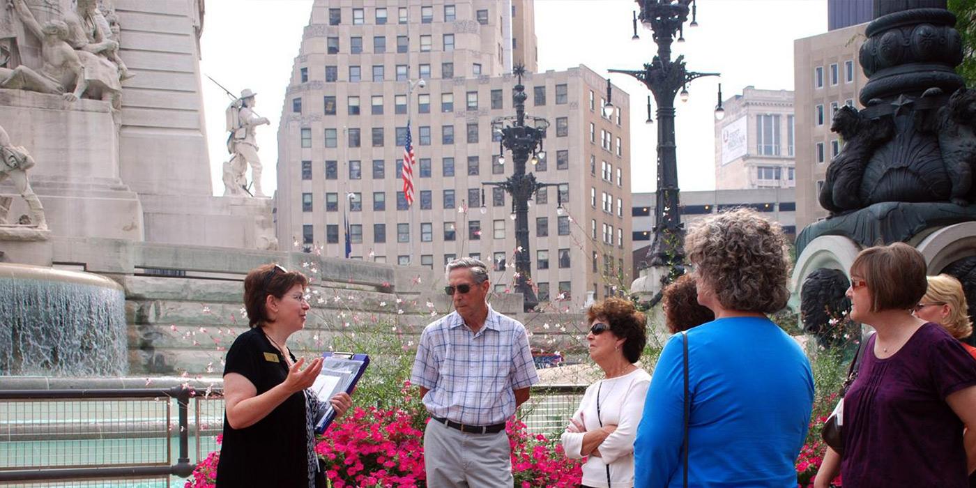 Monument Circle Tour