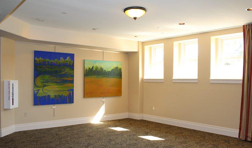 Rapp Family Gallery Interior Left