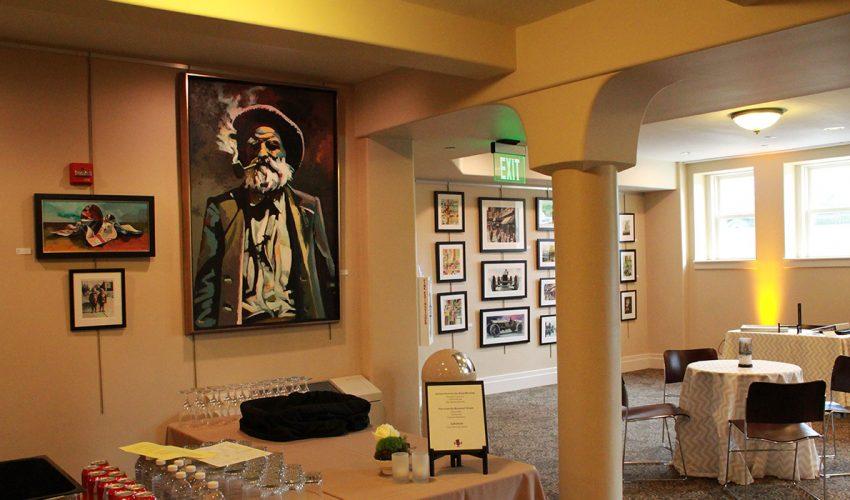 Rapp Family Gallery Interior Art Exhibit