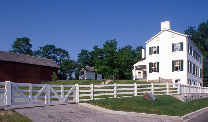 Huddleston Farmhouse exterior