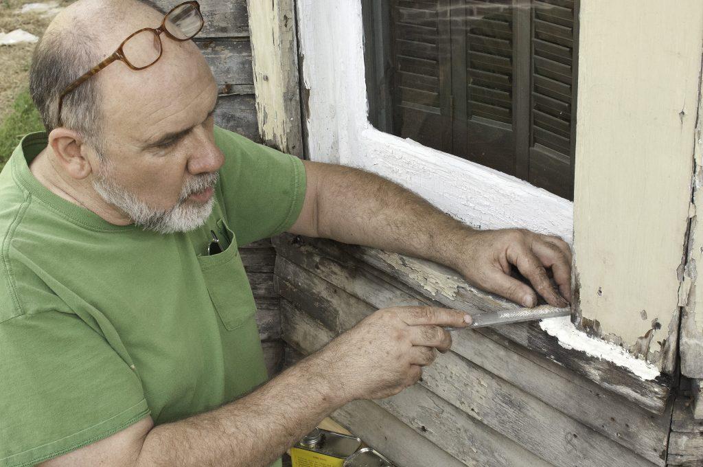 Wood trim repair