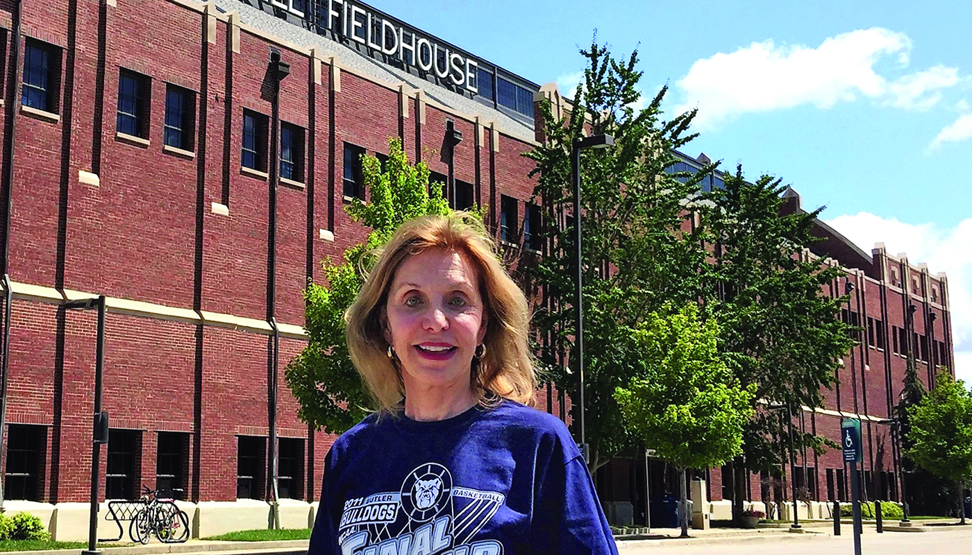 Lori Efroymson at Hinkle Fieldhouse by Sergio Aguilera