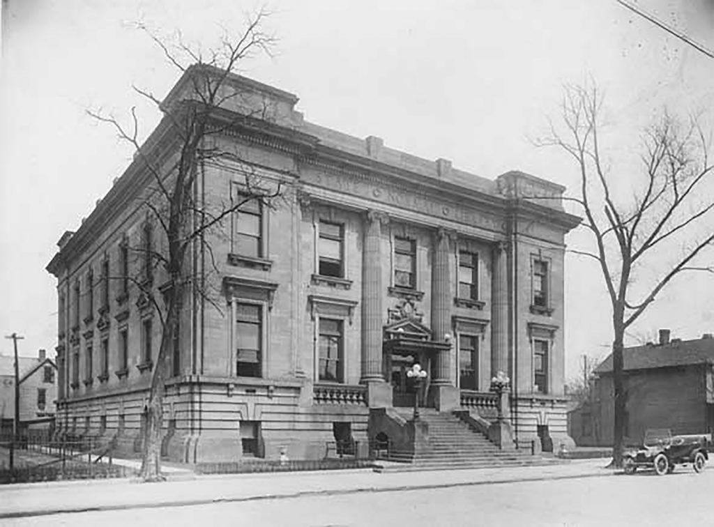 Normal Hall historic