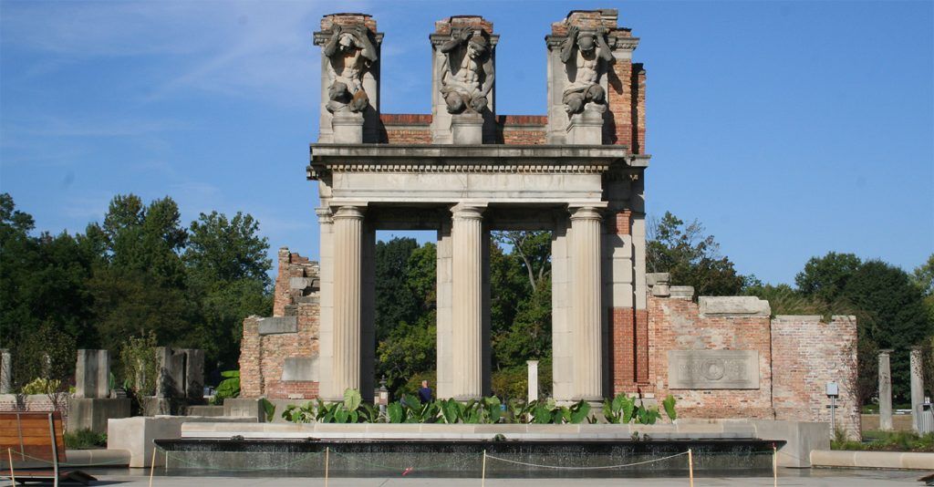Holliday Park Ruins, Indianapolis