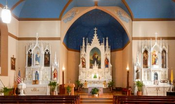 St. Joseph church, St. Leon, Indiana