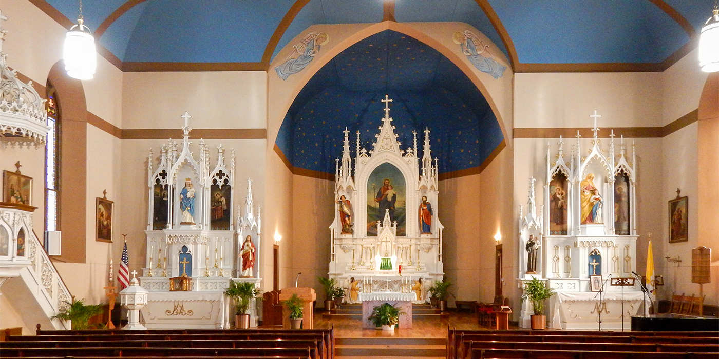 Catholic church in french lick in