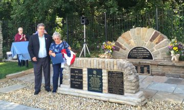 Lincoln Highway memorial rededication