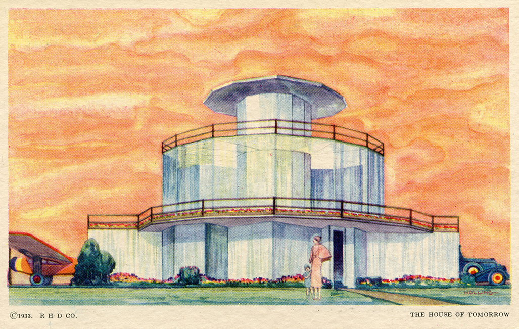 House of Tomorrow postcard