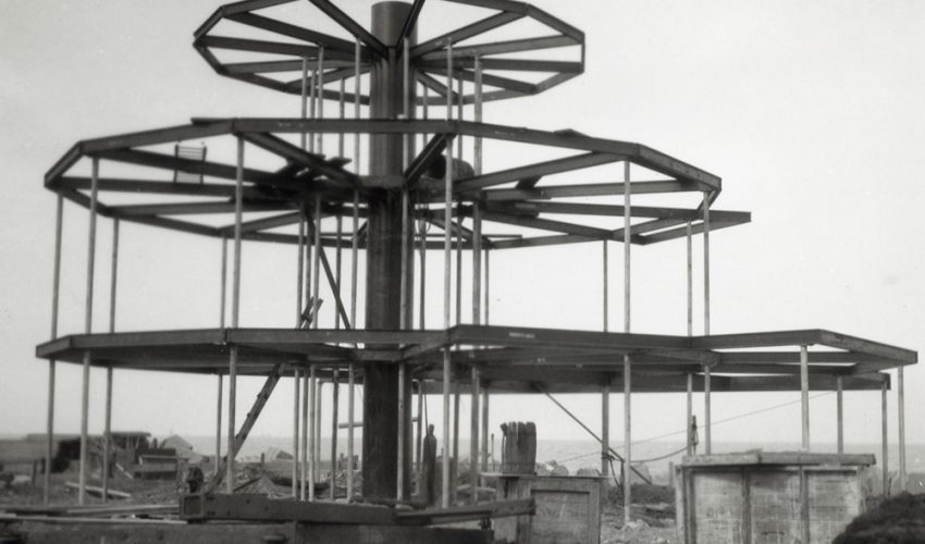 House of Tomorrow under construction