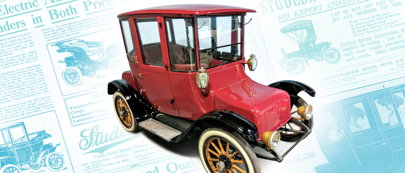 The Rise And Decline Of Early Electric Cars Indiana Landmarks