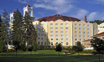 West Baden Springs Hotel restored