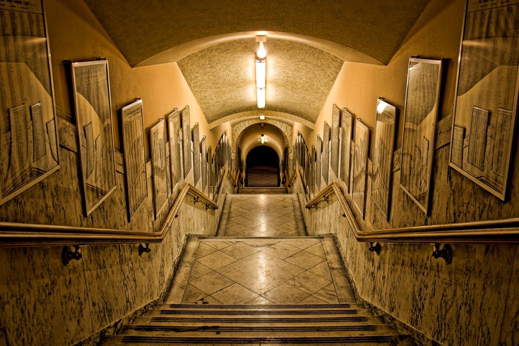War Memorial hallway