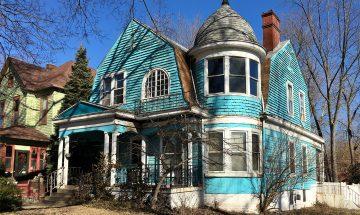 Austermiller House, Farrington's Grove, Terre Haute