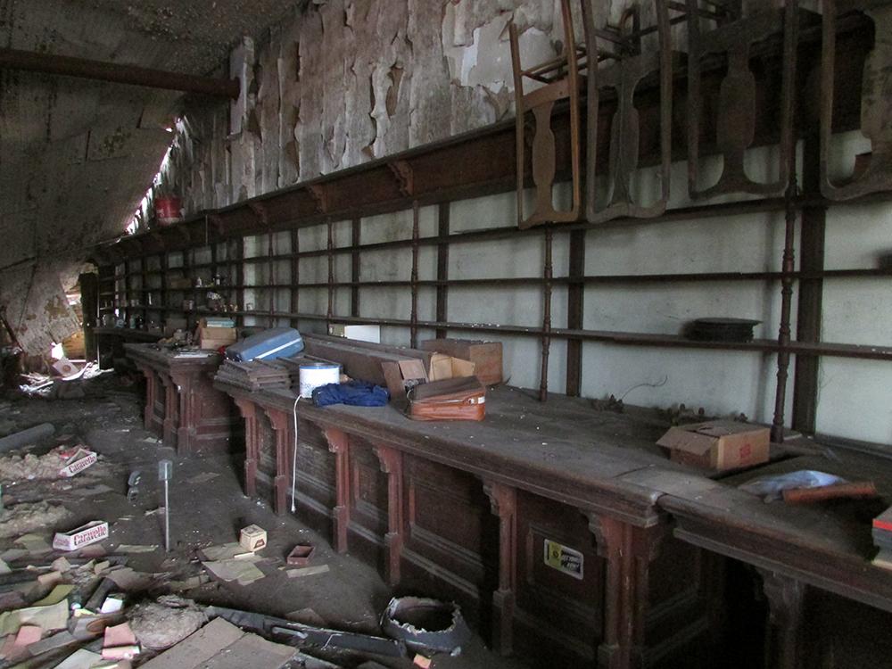 Koerner Block interior, Birdseye