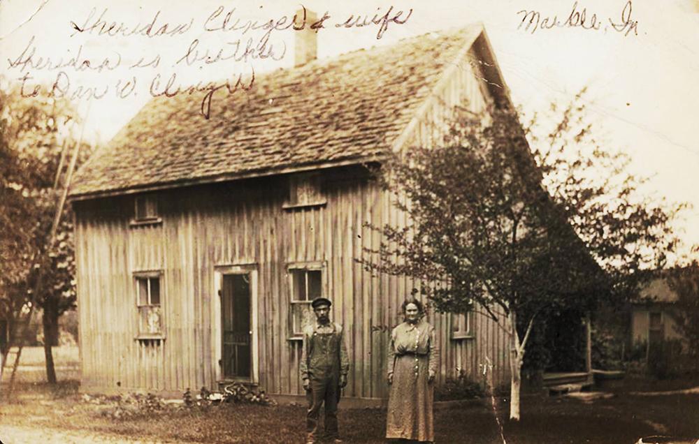 Draper cabin circa 1908