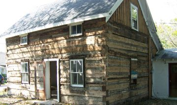 Draper Log Cabin, Markle