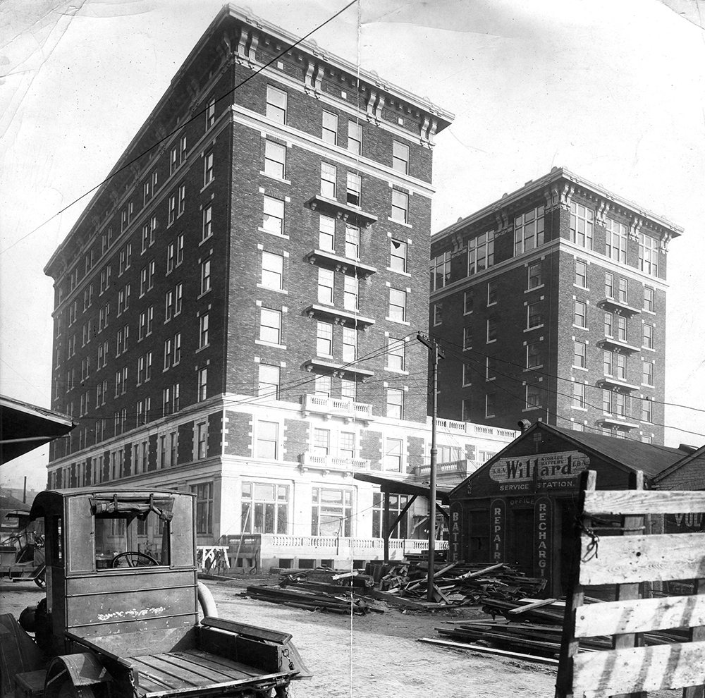 McCurdy Hotel Evansville, historic