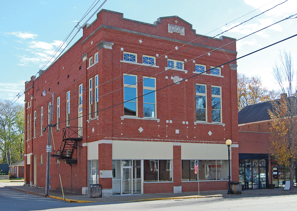 Odd Fellows Lodge, New Harmony