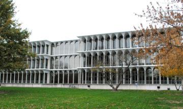 Irwin Library Butler University Minoru Yamasaki