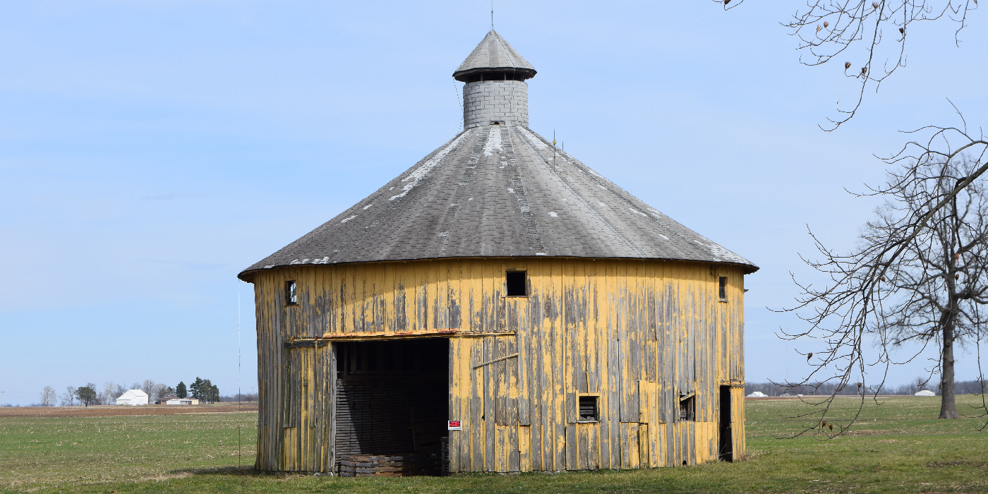 Round And Polygonal Barns Indiana Landmarks 10 Most