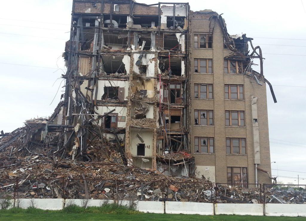 Bowser Building demolition
