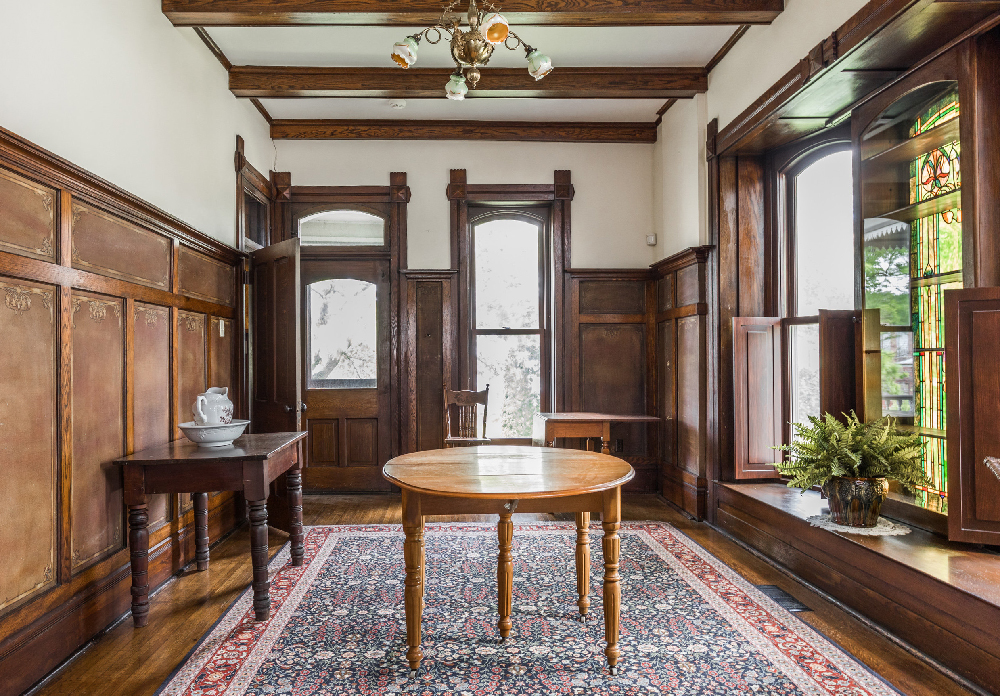 Rohlfing House dining room, Attica