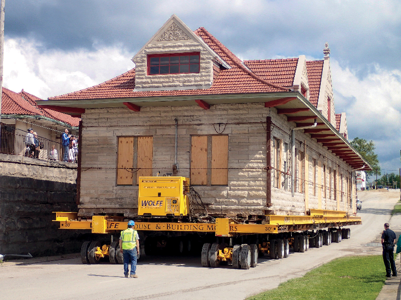 Bedford Depot moving