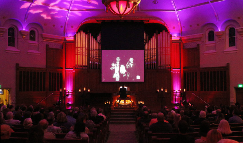 indiana landmarks silent halloween with organist mark herman - Halloween Indiana